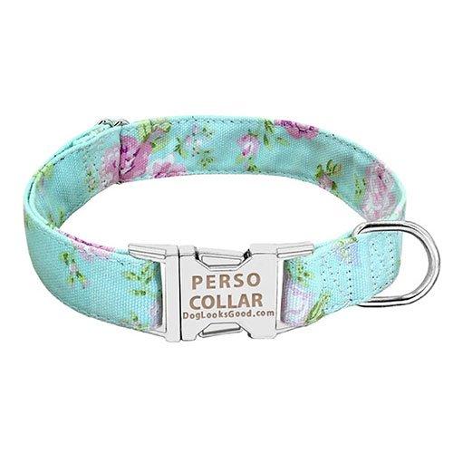 Bella engraved dog collar