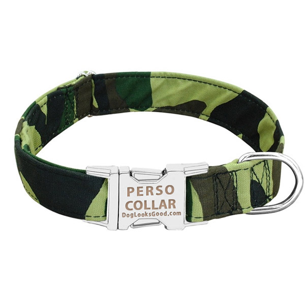 personalized collar army