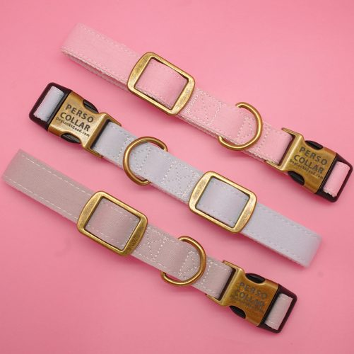pink background of beautiful perso collars