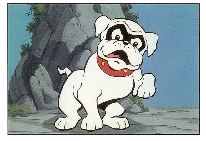 bandit from Johnny Quest