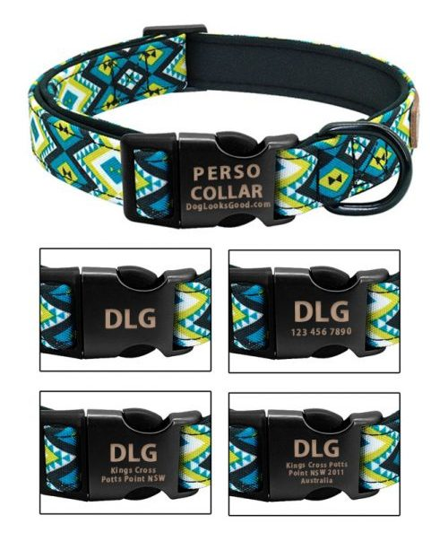 hawaii dog collar with engraving choose the right message