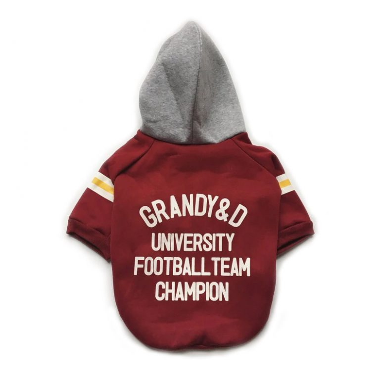red dog college hoodie