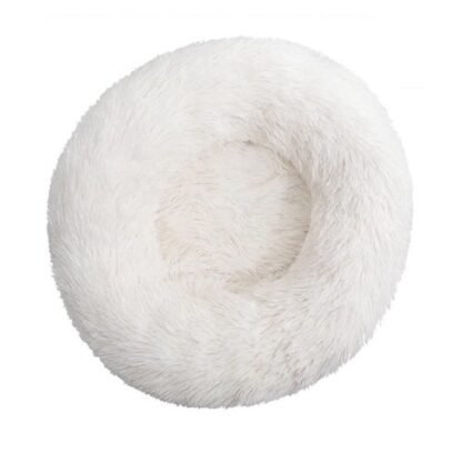 Dog cloud bed white