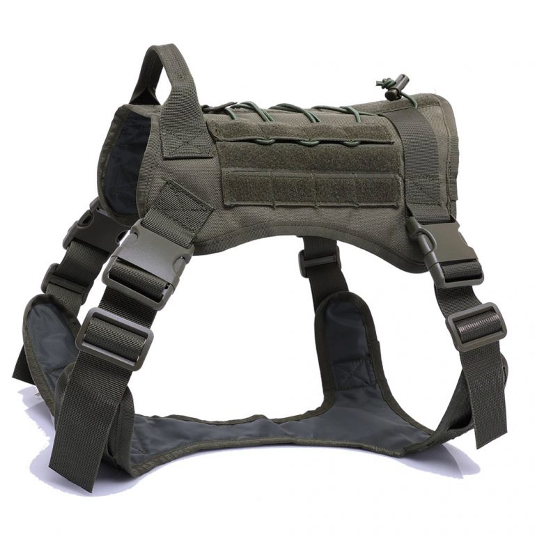 green inexpensive tactical dog harness