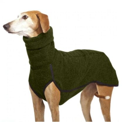 gordy dog clothing winter collection green photo