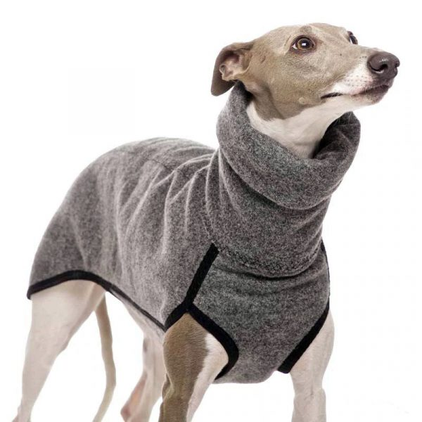 gordy dog clothing winter collection gray photo
